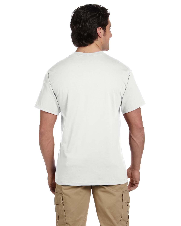 JERZEES-Mens-Heavyweight-Blend-50-50-T-Shirt-with-Pocket-Tee-S-XL-R-29P thumbnail 3