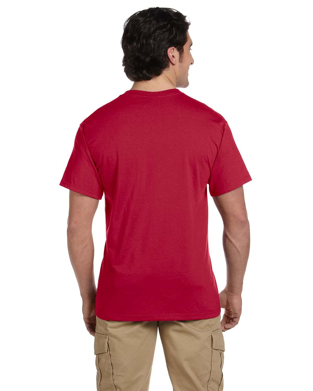 JERZEES-Mens-Heavyweight-Blend-50-50-T-Shirt-with-Pocket-Tee-S-XL-R-29P thumbnail 42