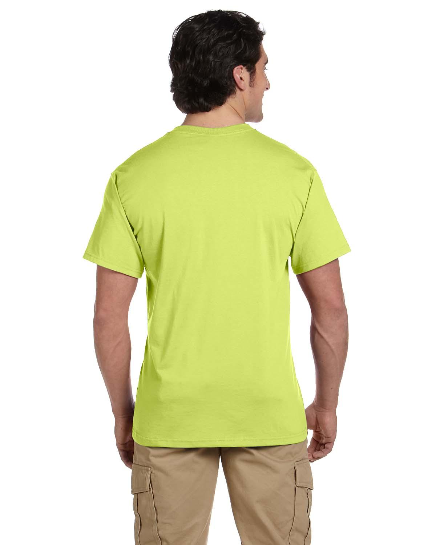 JERZEES-Mens-Heavyweight-Blend-50-50-T-Shirt-with-Pocket-Tee-S-XL-R-29P thumbnail 36