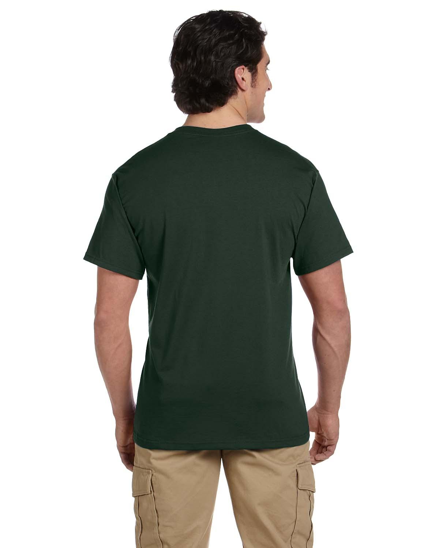 JERZEES-Mens-Heavyweight-Blend-50-50-T-Shirt-with-Pocket-Tee-S-XL-R-29P thumbnail 18