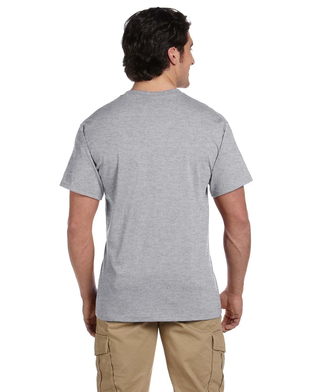 JERZEES-Mens-Heavyweight-Blend-50-50-T-Shirt-with-Pocket-Tee-S-XL-R-29P thumbnail 30