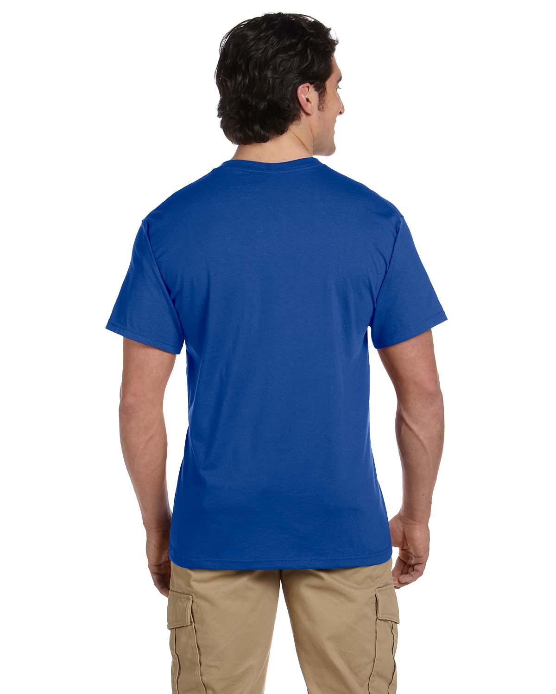 JERZEES-Mens-Heavyweight-Blend-50-50-T-Shirt-with-Pocket-Tee-S-XL-R-29P thumbnail 33