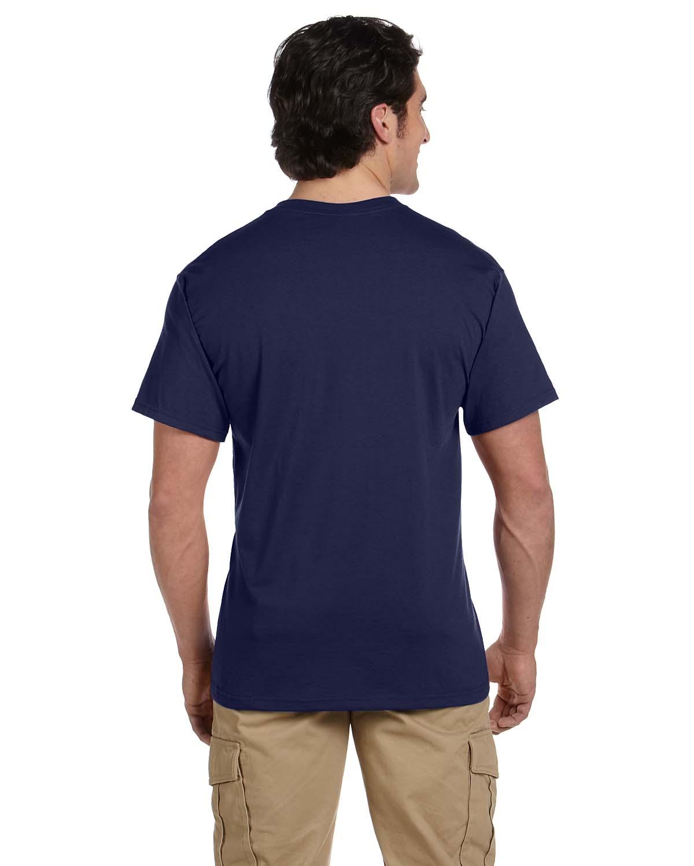 JERZEES-Mens-Heavyweight-Blend-50-50-T-Shirt-with-Pocket-Tee-S-XL-R-29P thumbnail 21