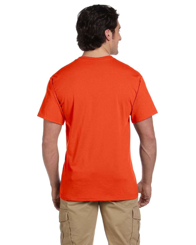 JERZEES-Mens-Heavyweight-Blend-50-50-T-Shirt-with-Pocket-Tee-S-XL-R-29P thumbnail 15