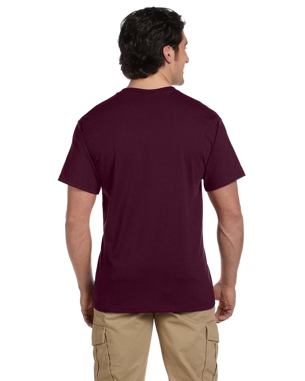 JERZEES-Mens-Heavyweight-Blend-50-50-T-Shirt-with-Pocket-Tee-S-XL-R-29P thumbnail 27