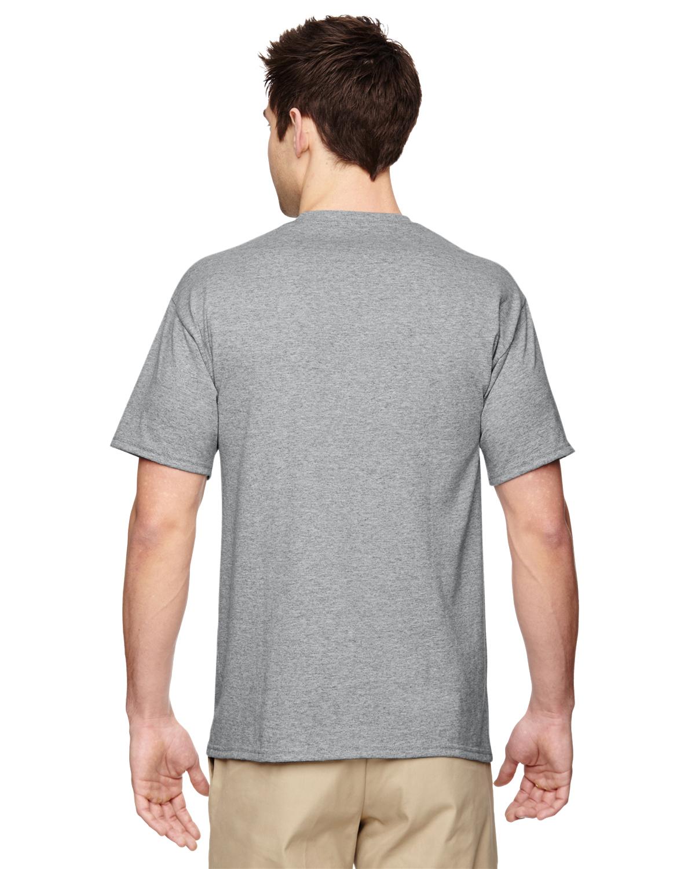 JERZEES-Mens-Heavyweight-Blend-50-50-T-Shirt-with-Pocket-Tee-S-XL-R-29P thumbnail 9