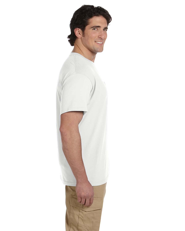 JERZEES-Mens-Heavyweight-Blend-50-50-T-Shirt-with-Pocket-Tee-S-XL-R-29P thumbnail 4
