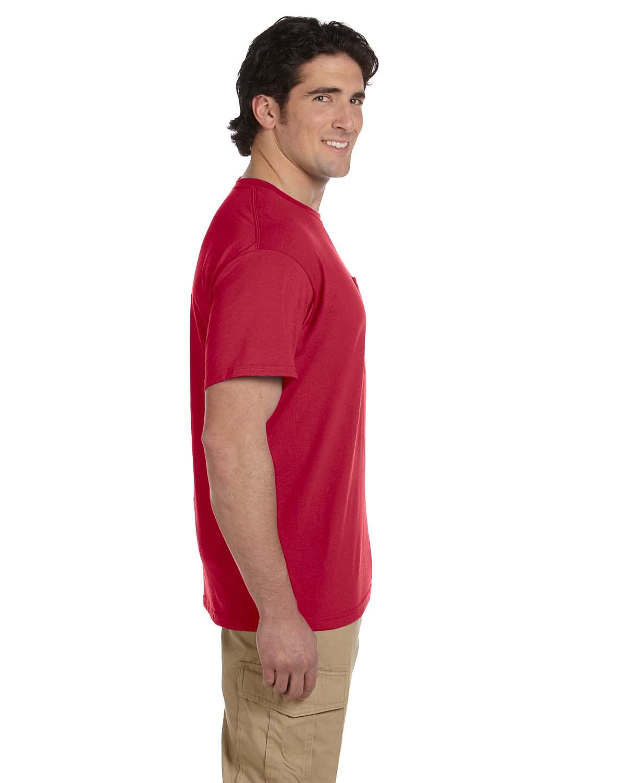 JERZEES-Mens-Heavyweight-Blend-50-50-T-Shirt-with-Pocket-Tee-S-XL-R-29P thumbnail 43