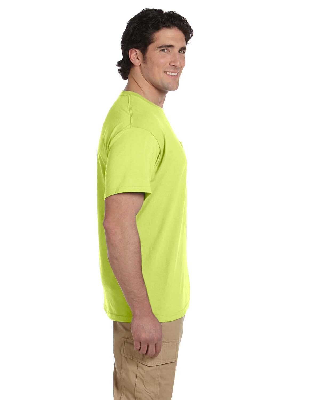 JERZEES-Mens-Heavyweight-Blend-50-50-T-Shirt-with-Pocket-Tee-S-XL-R-29P thumbnail 37