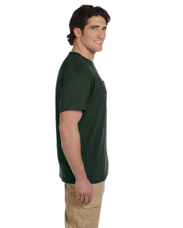 JERZEES-Mens-Heavyweight-Blend-50-50-T-Shirt-with-Pocket-Tee-S-XL-R-29P thumbnail 19