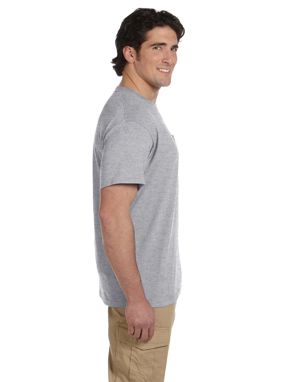 JERZEES-Mens-Heavyweight-Blend-50-50-T-Shirt-with-Pocket-Tee-S-XL-R-29P thumbnail 31