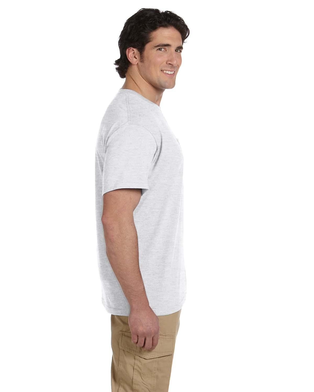 JERZEES-Mens-Heavyweight-Blend-50-50-T-Shirt-with-Pocket-Tee-S-XL-R-29P thumbnail 7