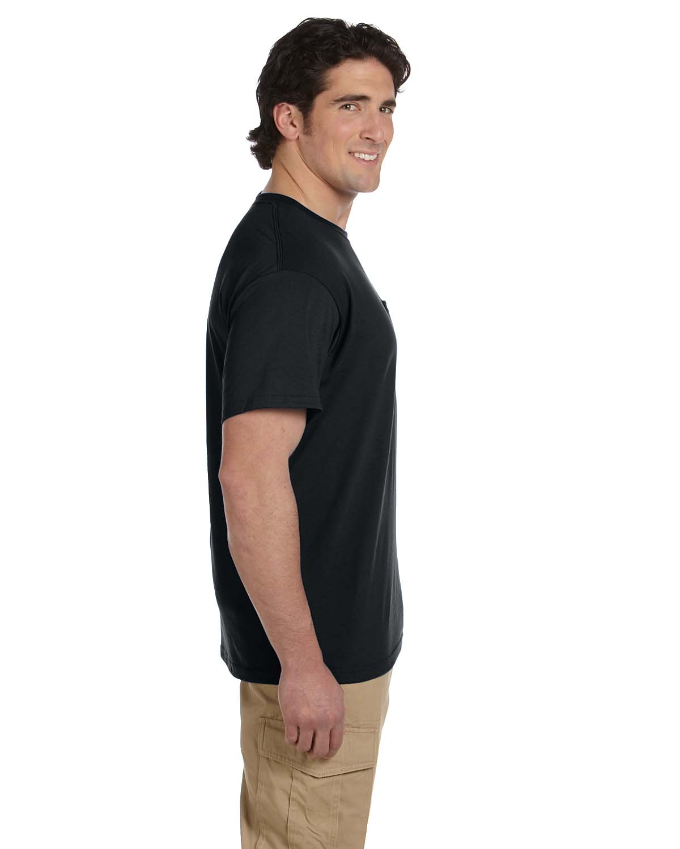 JERZEES-Mens-Heavyweight-Blend-50-50-T-Shirt-with-Pocket-Tee-S-XL-R-29P thumbnail 13