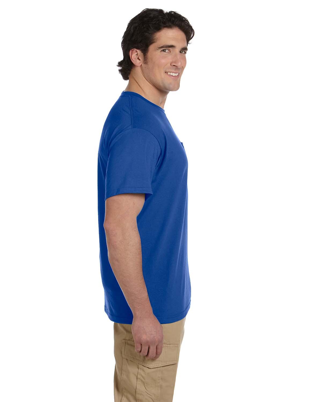 JERZEES-Mens-Heavyweight-Blend-50-50-T-Shirt-with-Pocket-Tee-S-XL-R-29P thumbnail 34