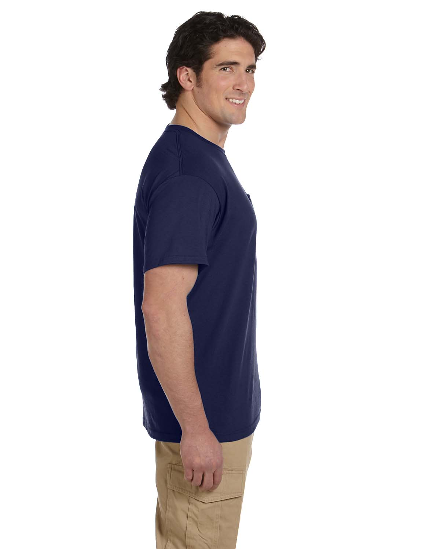 JERZEES-Mens-Heavyweight-Blend-50-50-T-Shirt-with-Pocket-Tee-S-XL-R-29P thumbnail 22