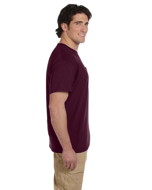 JERZEES-Mens-Heavyweight-Blend-50-50-T-Shirt-with-Pocket-Tee-S-XL-R-29P thumbnail 28