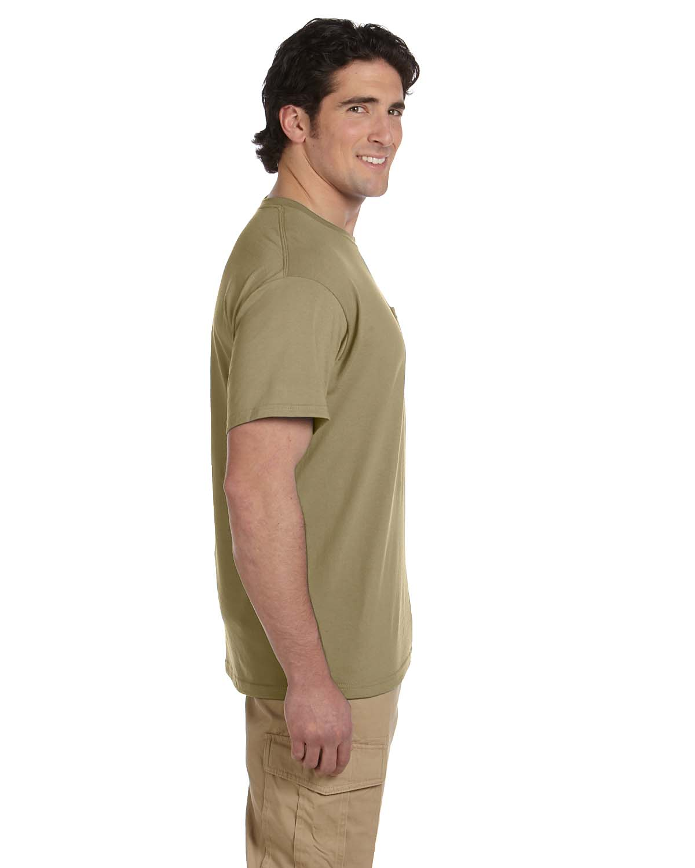 JERZEES-Mens-Heavyweight-Blend-50-50-T-Shirt-with-Pocket-Tee-S-XL-R-29P thumbnail 25