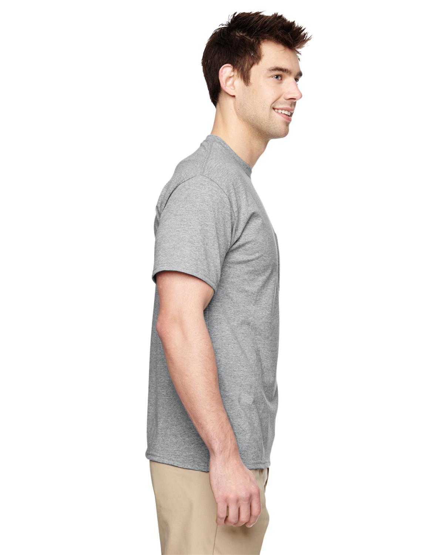 JERZEES-Mens-Heavyweight-Blend-50-50-T-Shirt-with-Pocket-Tee-S-XL-R-29P thumbnail 10