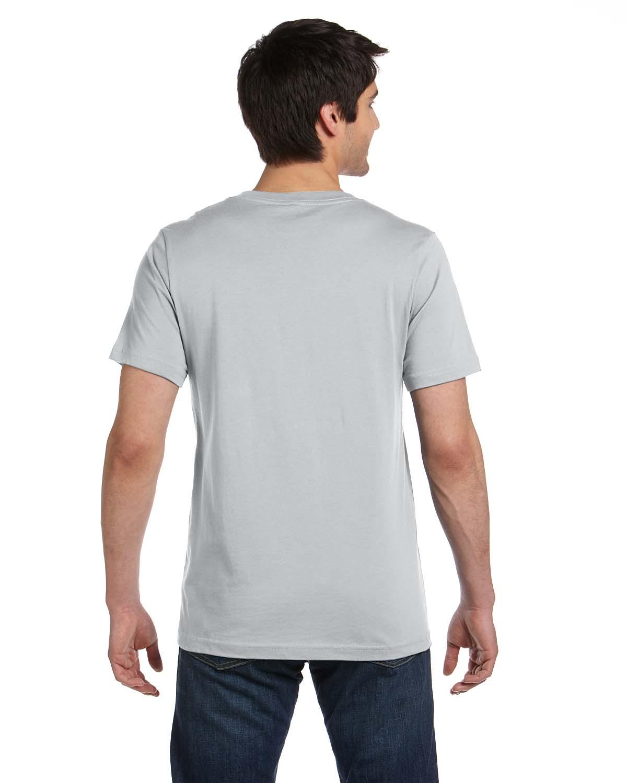 Bella Canvas Short Sleeve Unisex V Neck Jersey Xs Xl T