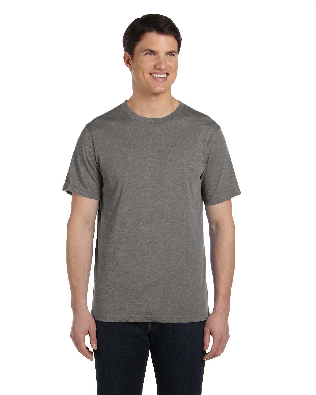 Bella canvas men 39 s triblend short sleeve crewneck big 2xl for Mens 3xl t shirts