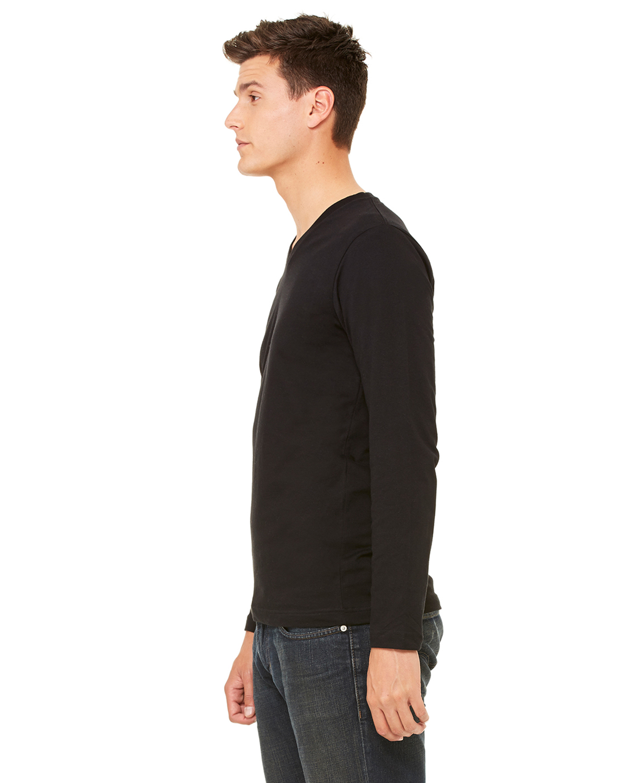 bella canvas unisex triblend jersey long sleeve v neck t. Black Bedroom Furniture Sets. Home Design Ideas