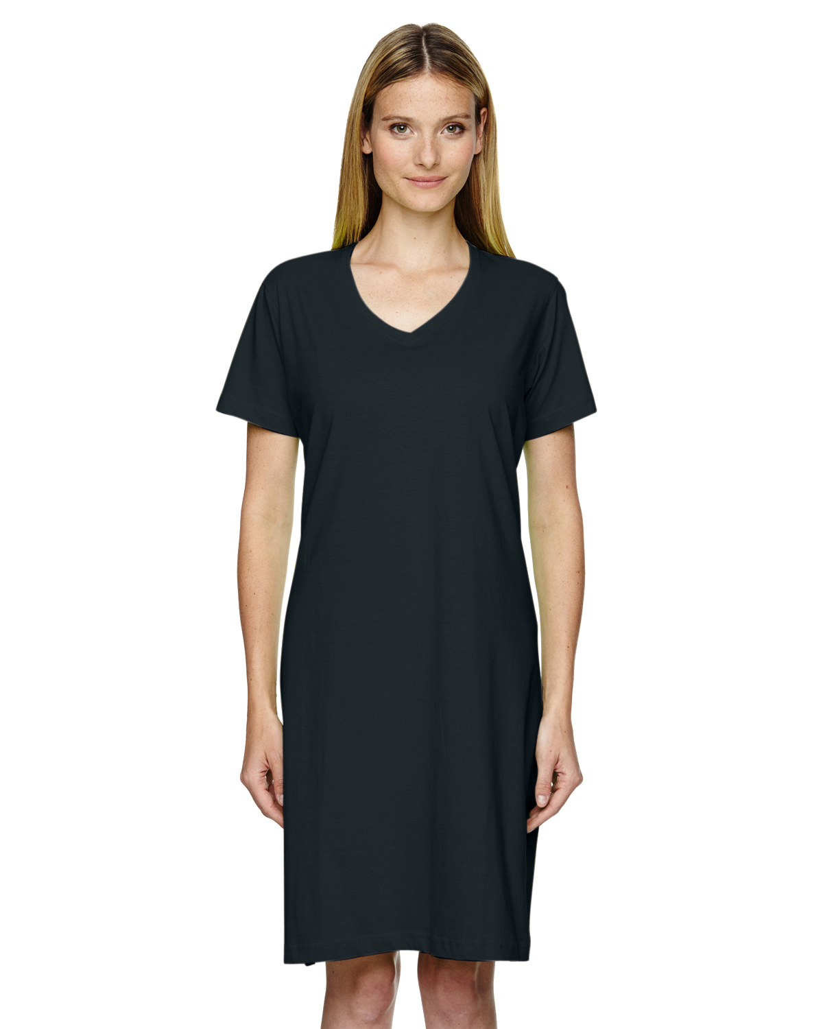 Black t shirt dress ebay - Lat Women 039 S 100 Cotton Short Sleeve