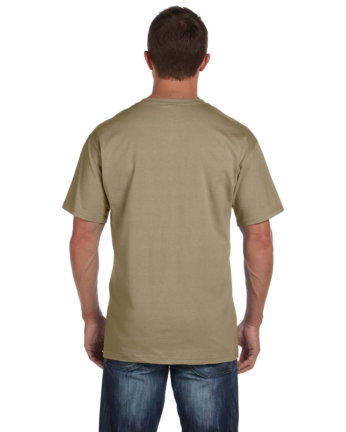 Fruit of the loom men 39 s 5 oz 100 heavy cotton pocket s for Fruits of the loom t shirts