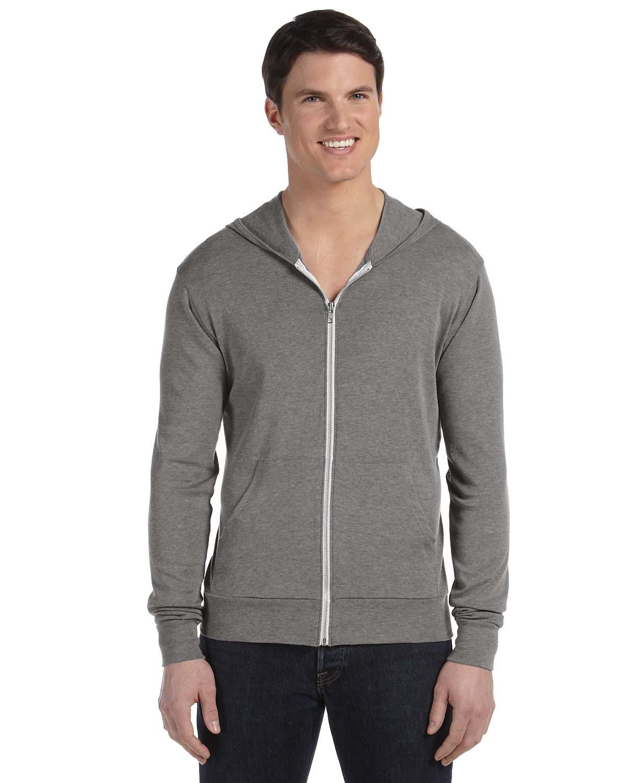Lightweight full zip hoodie