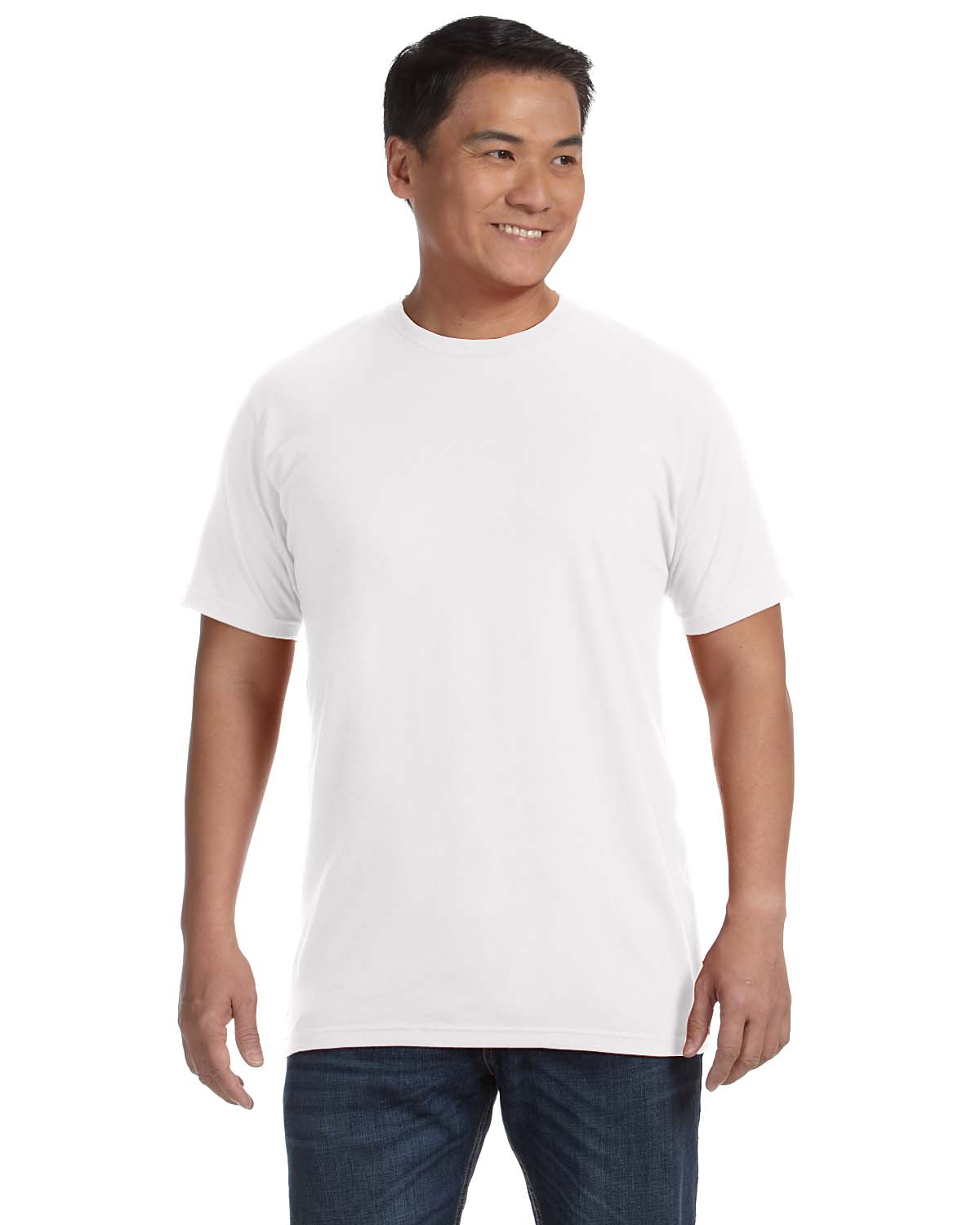 New anvil sustainable organic cotton recycled polyester for Where are anvil shirts made