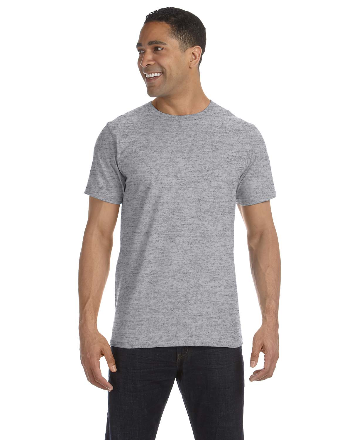 New anvil mens 39 eco friendly 100 organic cotton for Environmentally friendly t shirts