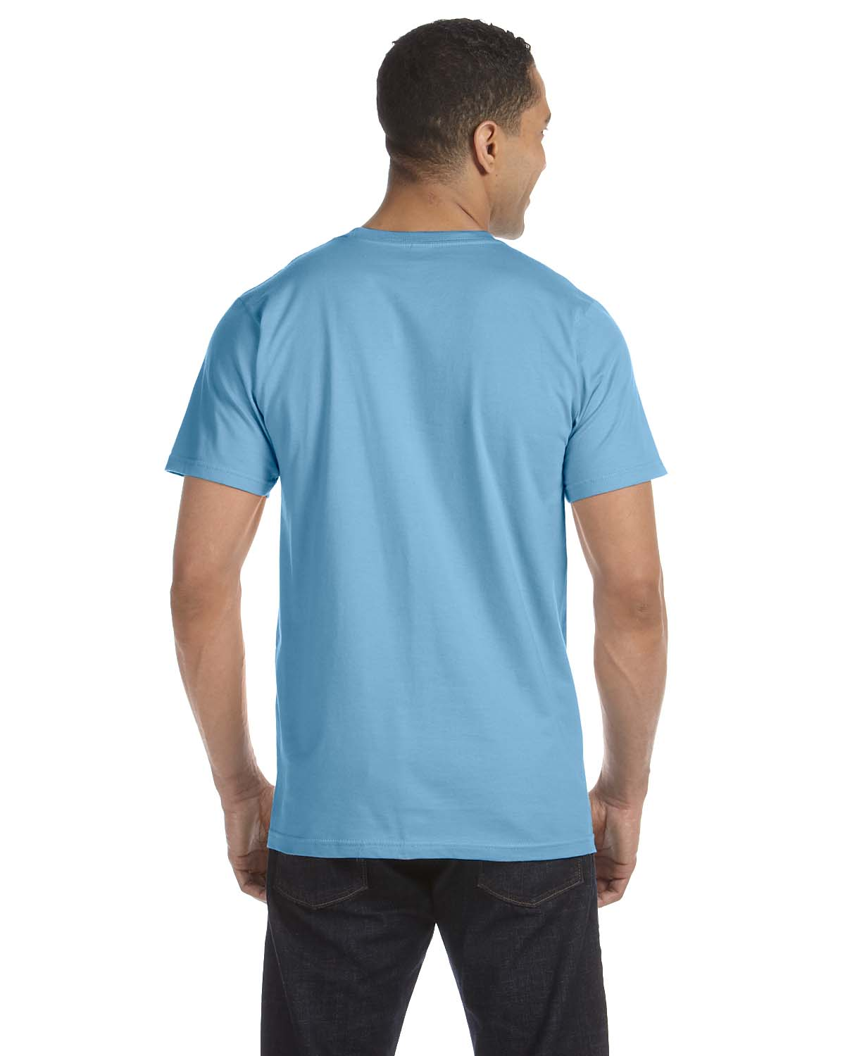 New anvil mens 39 eco friendly 100 organic cotton for Where are anvil shirts made