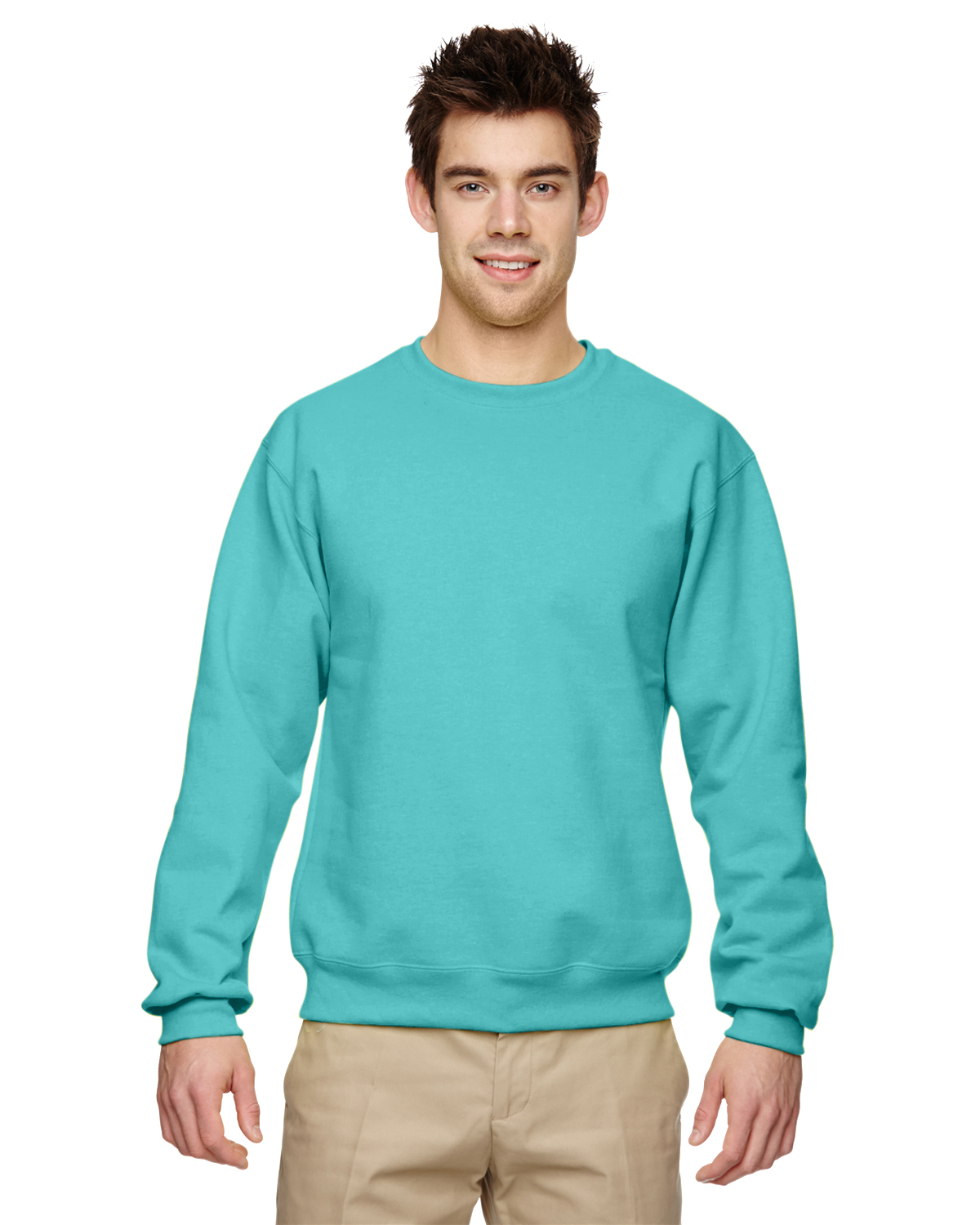 Find Men's Crew Neck Sweatshirts in a variety of colors and styles from zippered hoodies and pullover hoodies to comfy fleece crewneck sweatshirts.
