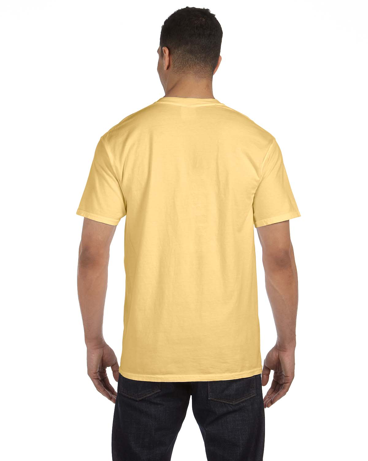 Comfort colors 6 1 oz garment dyed pocket t shirt s 3xl m for One color t shirt