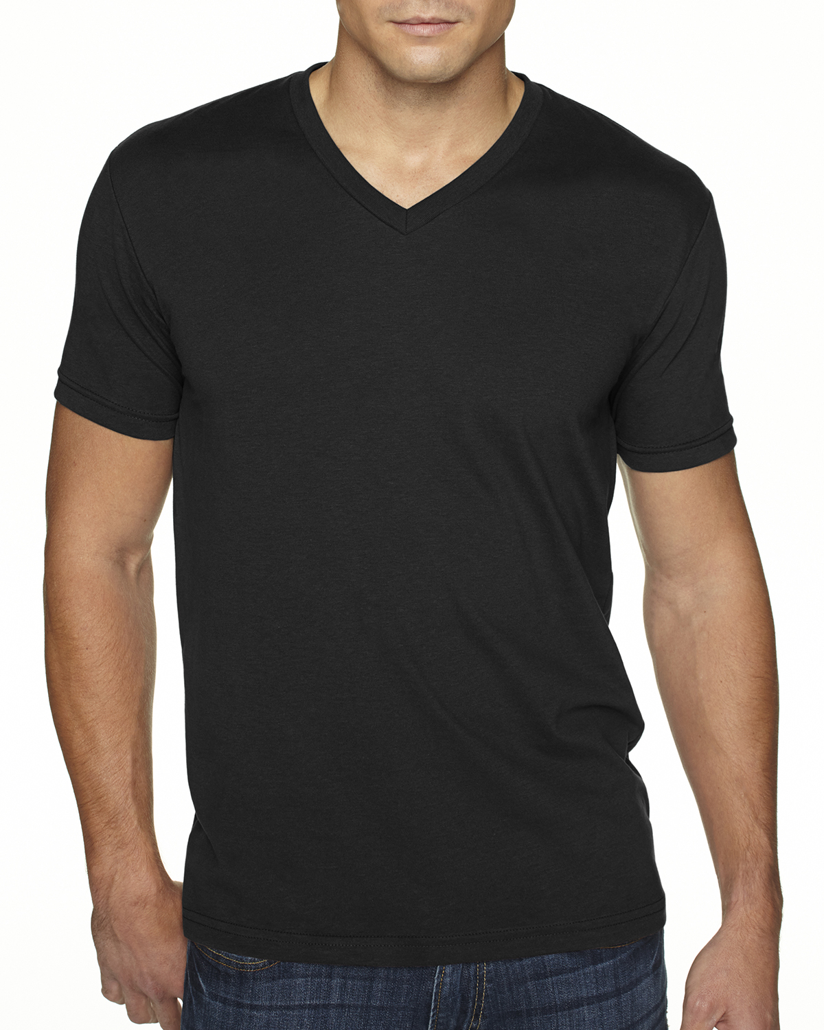 new next level men 39 s premium fit sueded v neck sizes s xl