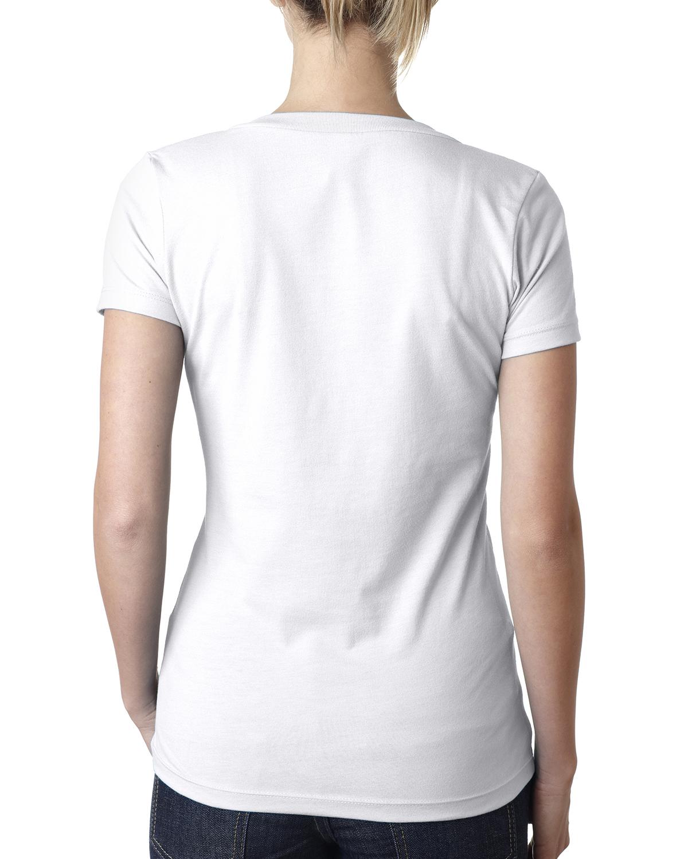 7844341554e5e NEW Next Level Ladies  Premium Fit CVC Deep V-Neck S-2XL T-Shirt M ...