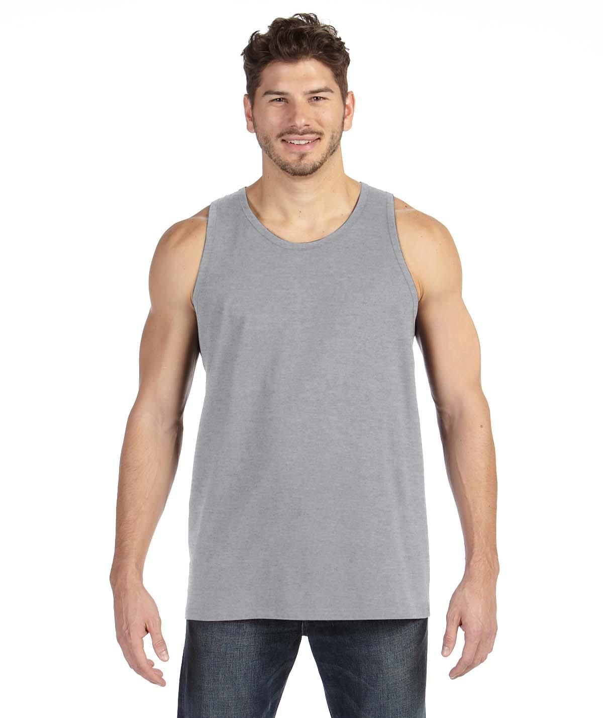 New 36 pc wholesale case anvil tank top unisex ringspun for 100 ringspun cotton t shirt wholesale