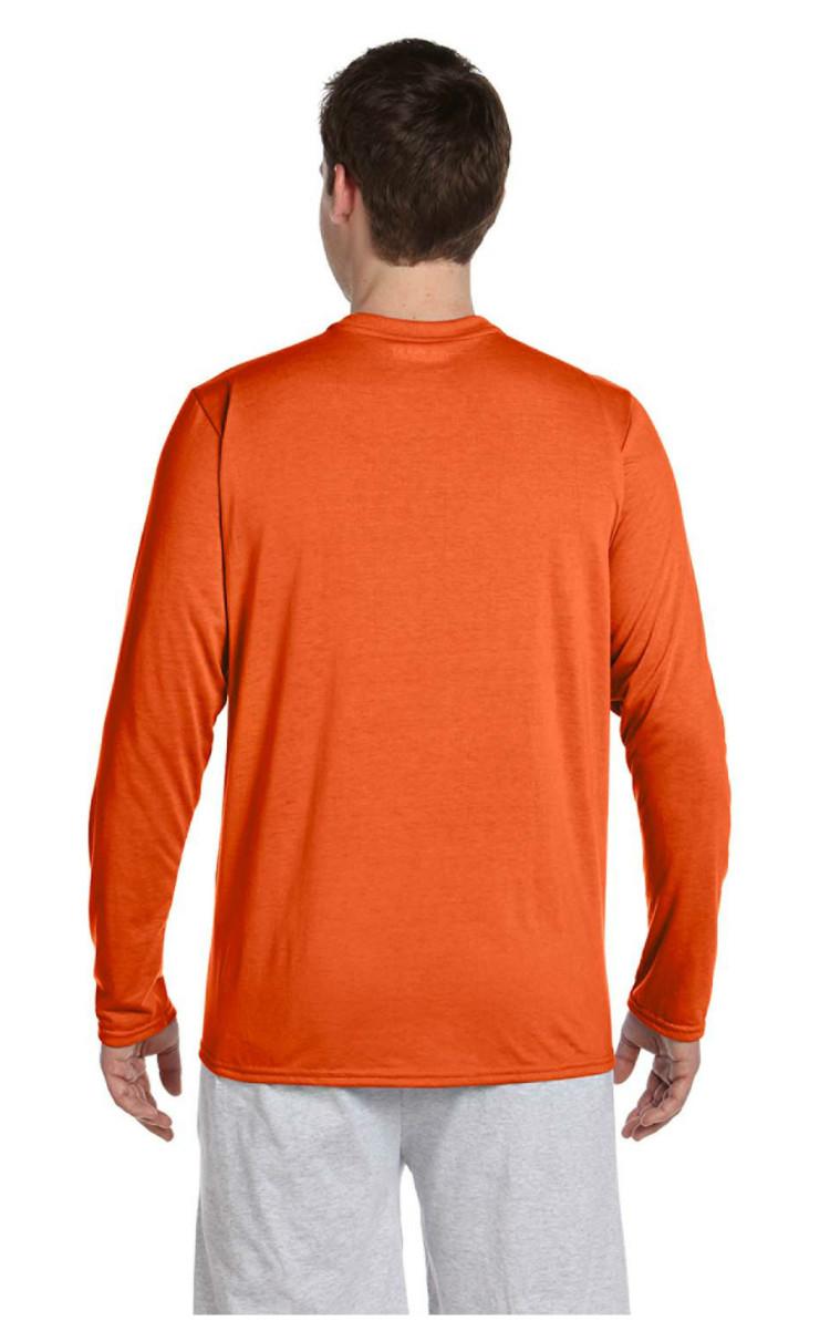 Gildan Performance 100 Polyester 4 5 Oz Long Sleeve T