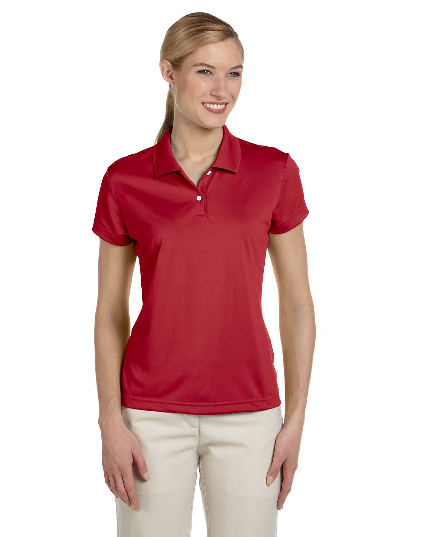 Adidas golf womens climalite basic short sleeve pique polo for Basic shirts for women