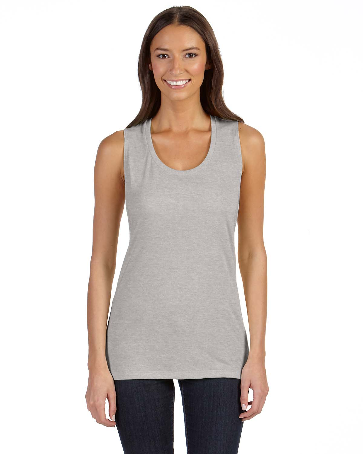 Tank Tops Women. There is no end to where tank tops can go; women can assemble looks for the office or the gym around the right styling of tank. Simple, cotton, sleeveless tees are ideal for workouts. Run outside in the hot summer sun, or lunge onto a yoga mat in the heated studio, keeping cool in a tank or camisole. Mimic.