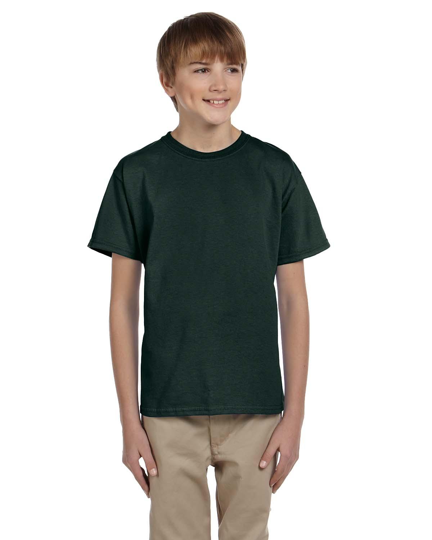 Youth black t shirt - Gildan Youth Short Sleeves 100 Ultra Heavy Cotton