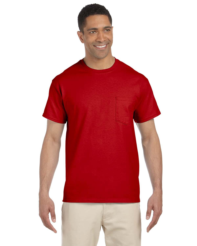 Gildan Men/'s Short Sleeves Ultra Cotton 6 oz Pocket S-XL T-Shirt M-G230