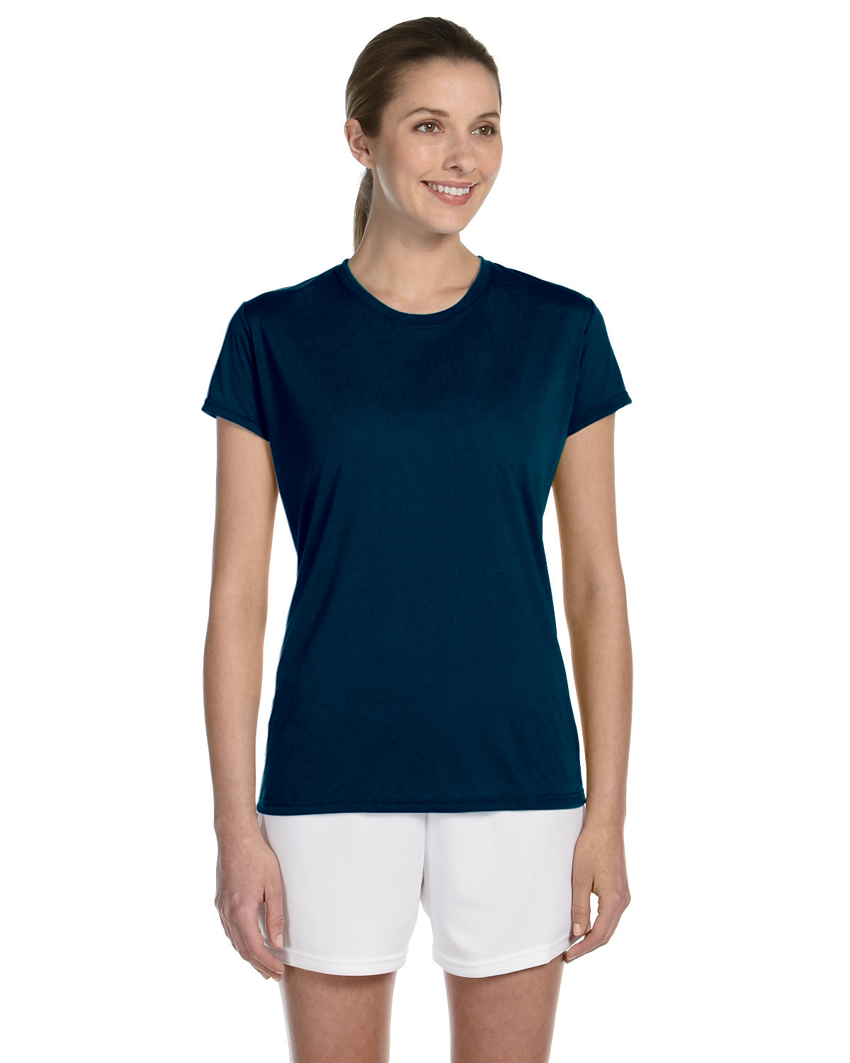 Gildan performance ladies 4 5 oz 100 polyester t shirt for What is a performance t shirt