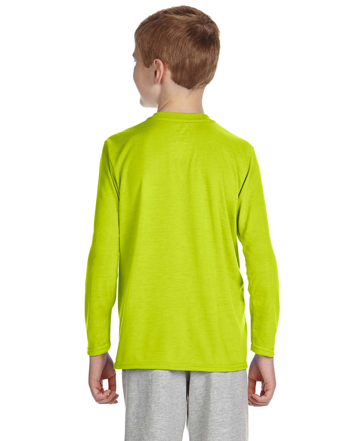 Yellow Long Sleeve T Shirt Youth Quality T Shirt Clearance