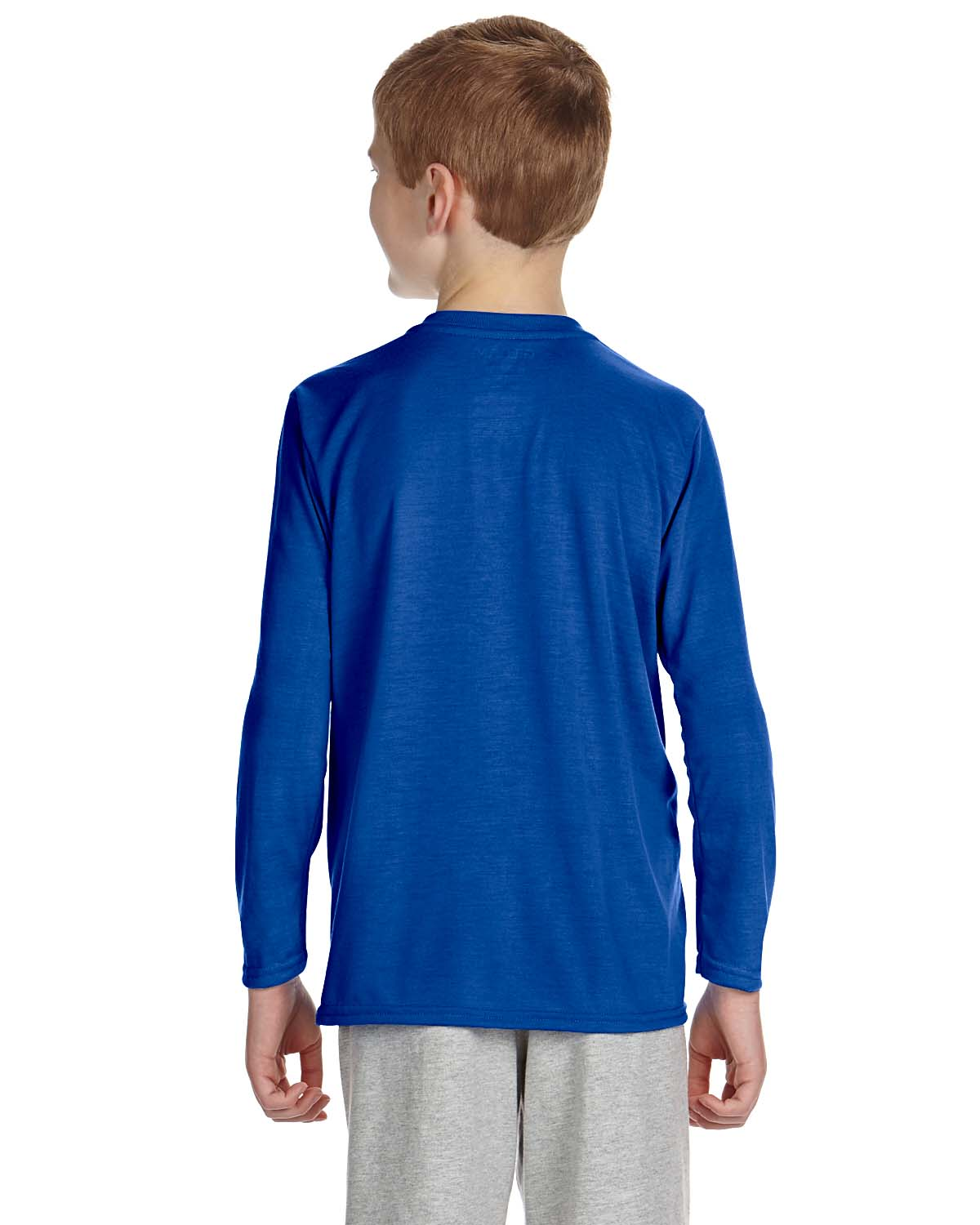 New gildan performance youth dri fit long sleeve t shirt for Custom dri fit t shirts
