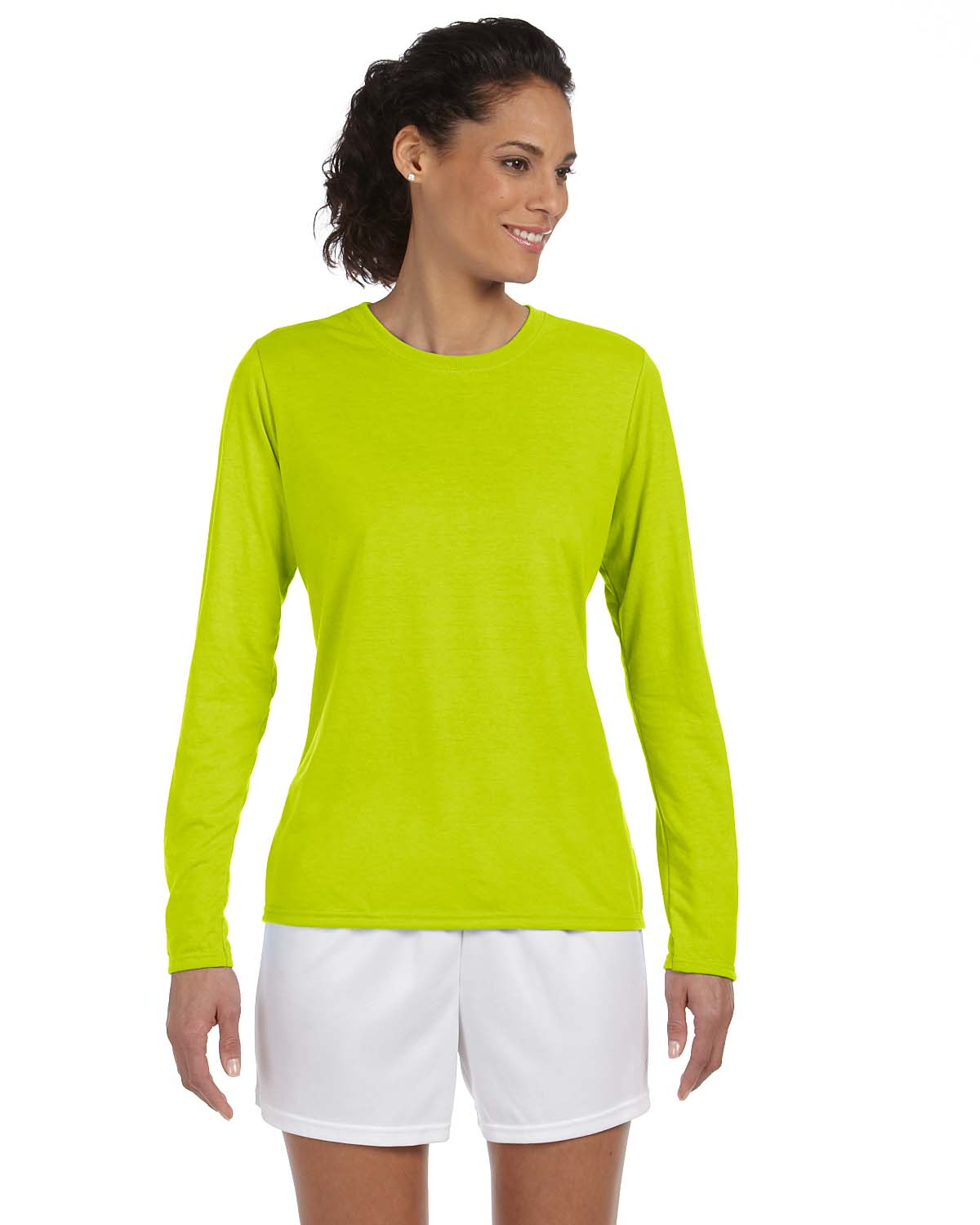 Gildan Performance Long Sleeve Moisture Wicking T Shirt Xs