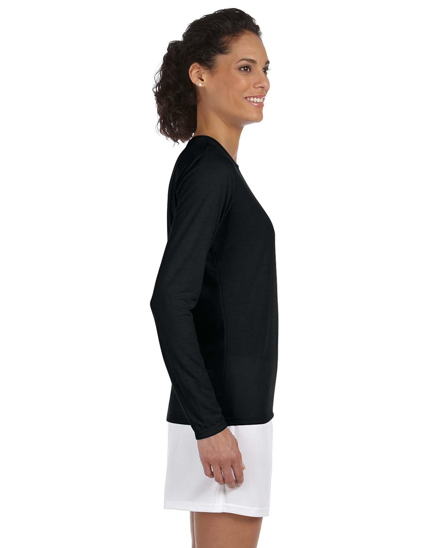Gildan Performance Long Sleeve Moisture Wicking T-Shirt XS-2XL ...