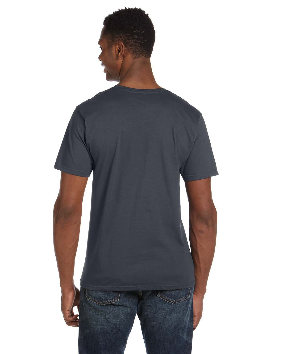 New Gildan Men 39 S 4 5 Oz Softstyle V Neck T Shirt Short