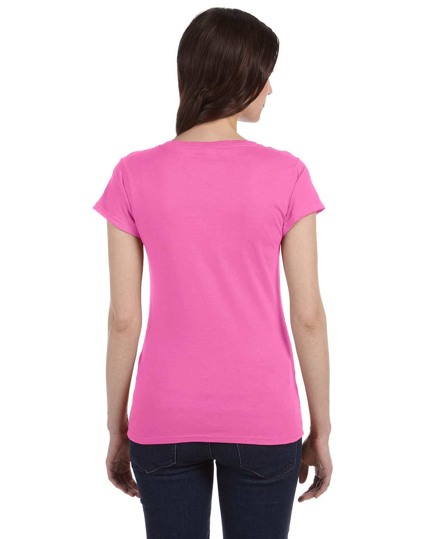 Gildan Ladies Softstyle Junior Fit V Neck T Shirt G64vl Ebay