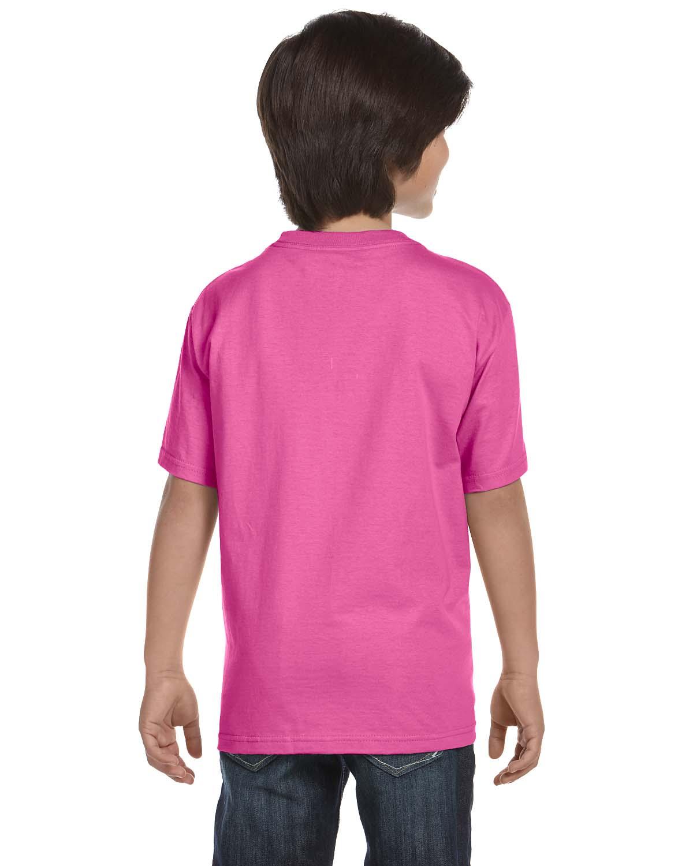 Gildan Youth T-Shirt Short Sleeves 5.6 oz 50//50 DryBlend  XS-L MG800B