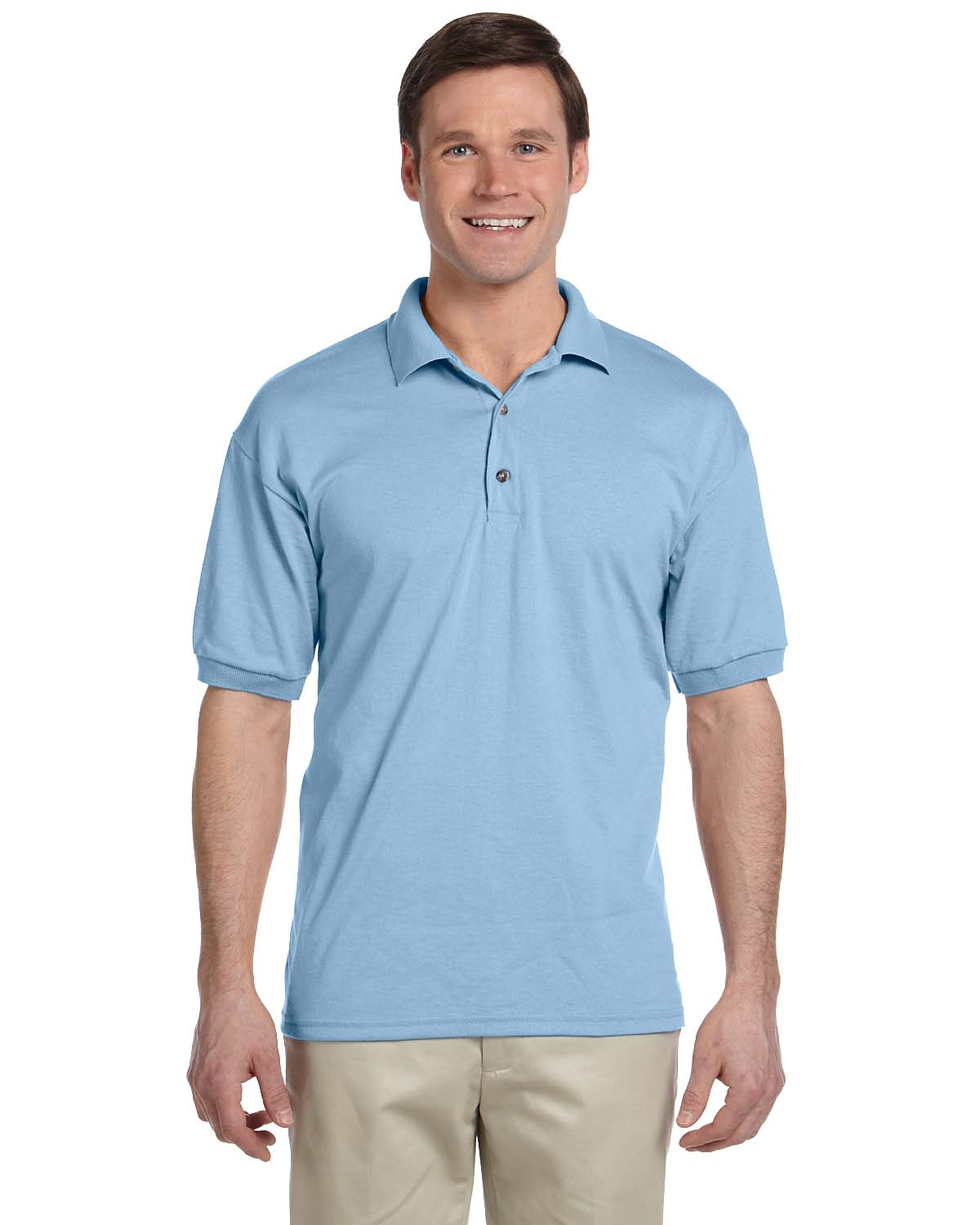 New Gildan Men 39 S Dryblend Moisture Wicking Jersey Polo